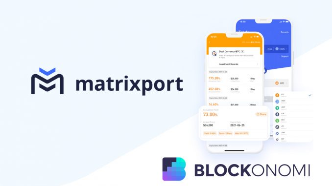 """Matrixport Releases New """"Auto-Invest"""" Tool for DCA Based Buying"""